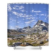 Mt Banner Shower Curtain