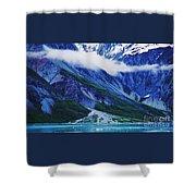 Mt. Barnard Shoreline 4 Shower Curtain