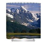 Mt Carpathian Shower Curtain