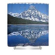 1m3641-mt. Chephren Reflect Shower Curtain