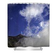 Mt. Etna  Shower Curtain