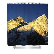 Mt Everest Shower Curtain
