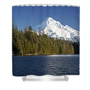 Mt Hood And Lost Lake Shower Curtain