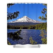 Trillium Lake II Shower Curtain