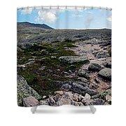 Mt Katahdin Appalachian Trail Shower Curtain