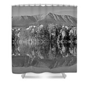 Mt Katahdin Baxter State Park Fall Shower Curtain