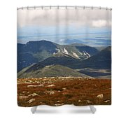 Mt. Katahdin Tablelands Shower Curtain