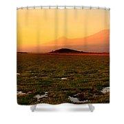 Mt Kilimanjaro Shower Curtain