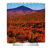 Mt Liberty And Mt Flume Shower Curtain