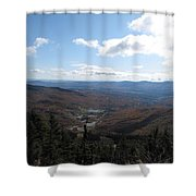 Mt Mansfield Looking East Shower Curtain