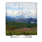Mt. Mckinley Denali National Park Shower Curtain