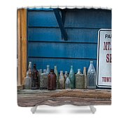 Mt Pleasant Seafood Shower Curtain