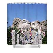 Mt. Rushmore Shower Curtain