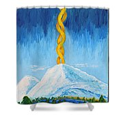 Mt. Shasta Shower Curtain
