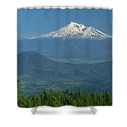 1a5637-mt. Shasta From Oregon Shower Curtain