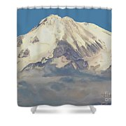 Mt. Shasta Summit Shower Curtain