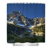 Mt Slesse Shower Curtain