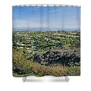Mt. Soledad - View To The South Shower Curtain
