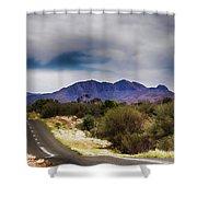 Mt Sonder Central Australia V2 Shower Curtain