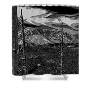 Mt St Helens Shower Curtain