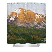 Mt. Tekarra Shower Curtain