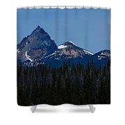 Mt. Thielsen Shower Curtain