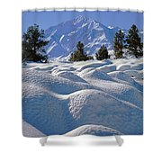 2m6403-mt. Tom From Sherwin Grade V Shower Curtain