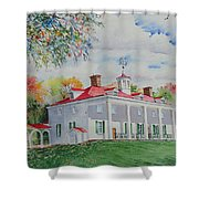 Mt. Vernon In The Fall Shower Curtain