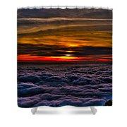 Mt Wilson Sunset 2 Shower Curtain