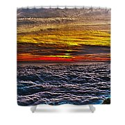 Mt Wilson Sunset Shower Curtain