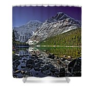 Mt.edith Cavell Shower Curtain