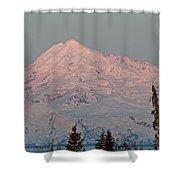 Mt.redoubt Shower Curtain