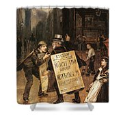 Much Ado About Nothing Shower Curtain