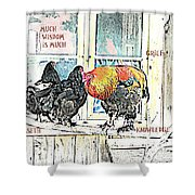 Much Wisdom Is Much Grief And Knowledge Is Sorrow  Shower Curtain