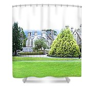 Muckross Castle Shower Curtain