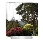 Muckross Garden In Spring Shower Curtain