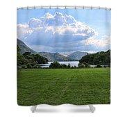 Muckross Lake 7633 Shower Curtain