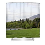 Muckross Lake And Garden Shower Curtain