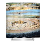 Mud Geyser Yellowstone Np 1928 Shower Curtain
