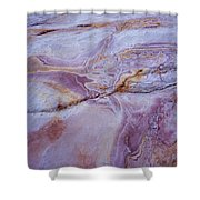 Muddy Mt. Sandstone A Shower Curtain