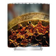 Muddy Rusty Sprockets Shower Curtain