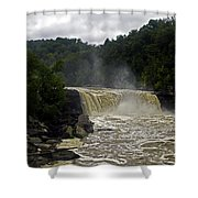 Muddy Water Shower Curtain