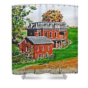 Mudhouse Mansion Shower Curtain