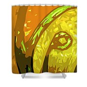 Mudlark Panel 1 Shower Curtain