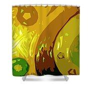 Mudlark Panel 2 Shower Curtain