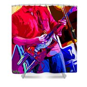Muffler Guitar Shower Curtain