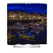 Mugardos Port Galicia Spain Shower Curtain