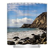 Mugu Rock Shower Curtain