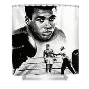 Muhammad Ali The Greatest Shower Curtain