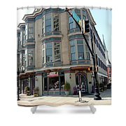 Mulberry Street Shower Curtain